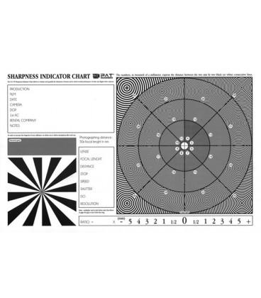 MIRE SHARPNESS INDICATOR CHART
