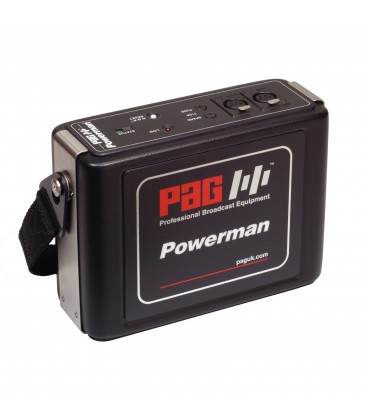BATTERIE POWERMAN 12V 7Ah XLR-4