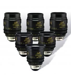 SERIE DE 6 OBJECTIFS COOKE MINI S4/i 18mm-25mm-32mm-50mm-75mm-100mm