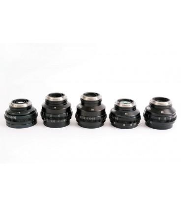 SERIE D'OBJECTIFS ZEISS 35DIGITAL Monture Canon EF ou Nikon