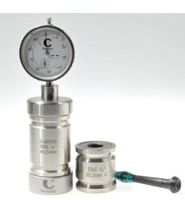 "BLOC & JAUGE DE MESURE ENG SD 2/3"" / 65.24mm"