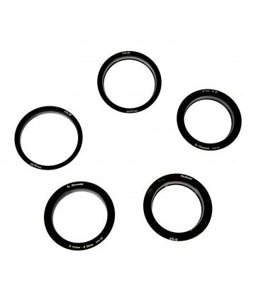 DESTOCKAGE: LOT BAGUES INSERT (100:95mm, 100:92mm, 100:83mm, 100:80mm, 100:62mm)