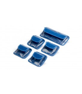 POCHETTES SUPPLEMENTAIRES POUR GRAND SAC ARRI (1 X LONG - 4 CARREES)