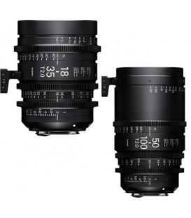 KIT 18-35MM ET 50-100MM F/AP T2 PL FEET + VALISE
