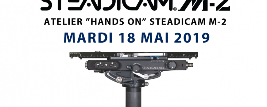 "Atelier ""Hands On"" Steadicam M-2"